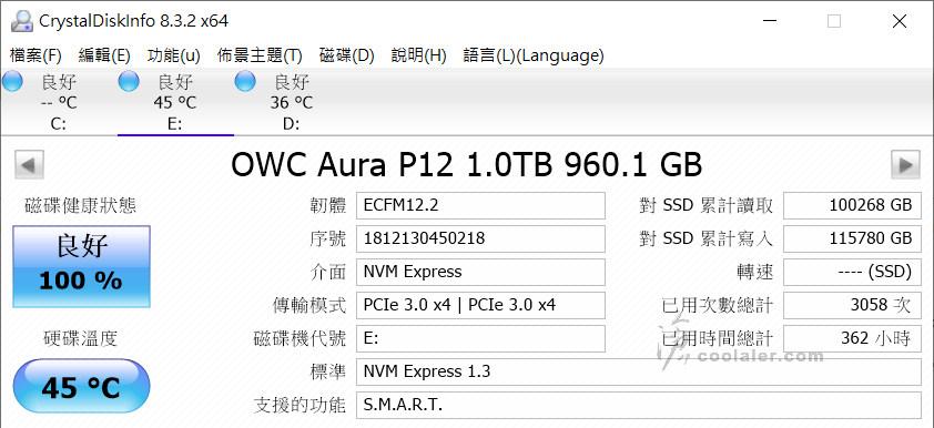 OWC Envoy Pro EX Thunderbolt 3 - Benchmark (3).jpg