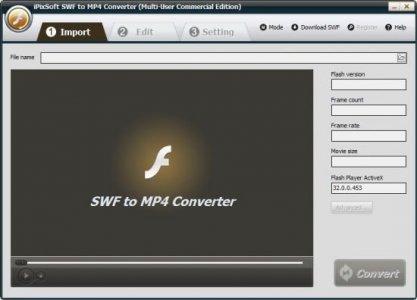 iPixSoft SWF to MP4 Converter 4.3.0.jpg